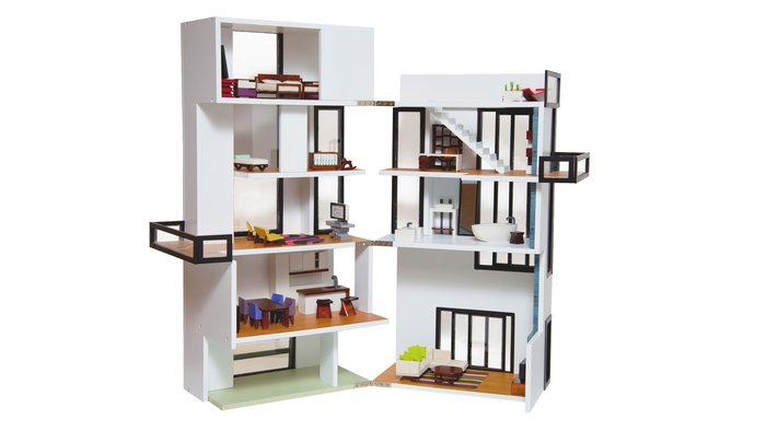 Modern Dollhouses Blessed With Two