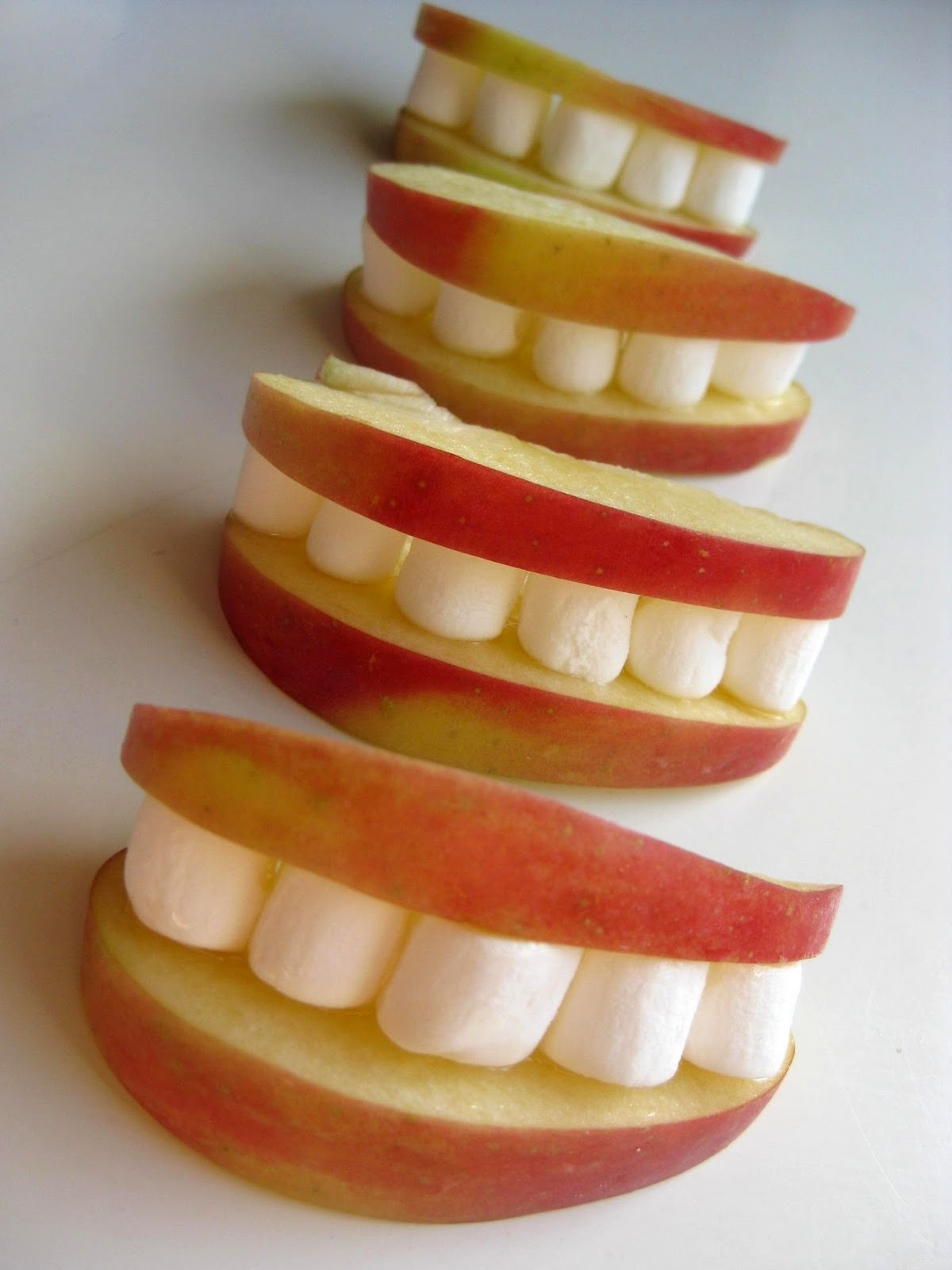 Fun yummy apple snacks blessed with two for Fun halloween treats to make with toddlers